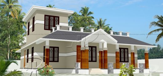 Kerala style single floor home design Kerala Home Design