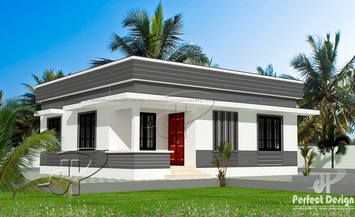 829 sq ft small home designs kerala home design for Small house design in kerala