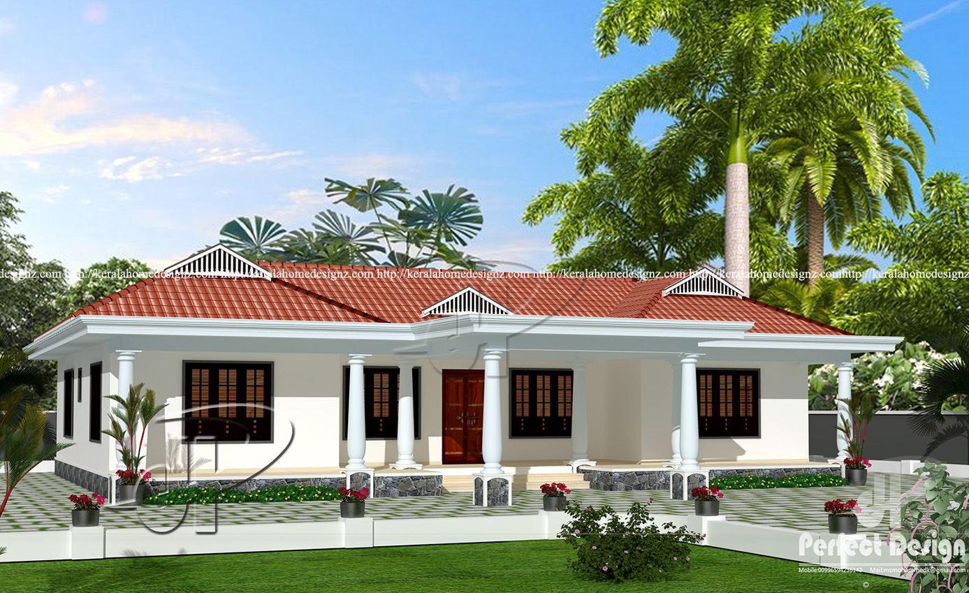 3 Bedroom Tradition Kerala Home With Nadumuttam Part - 15: FT MODERN AND TRADITIONAL HOME