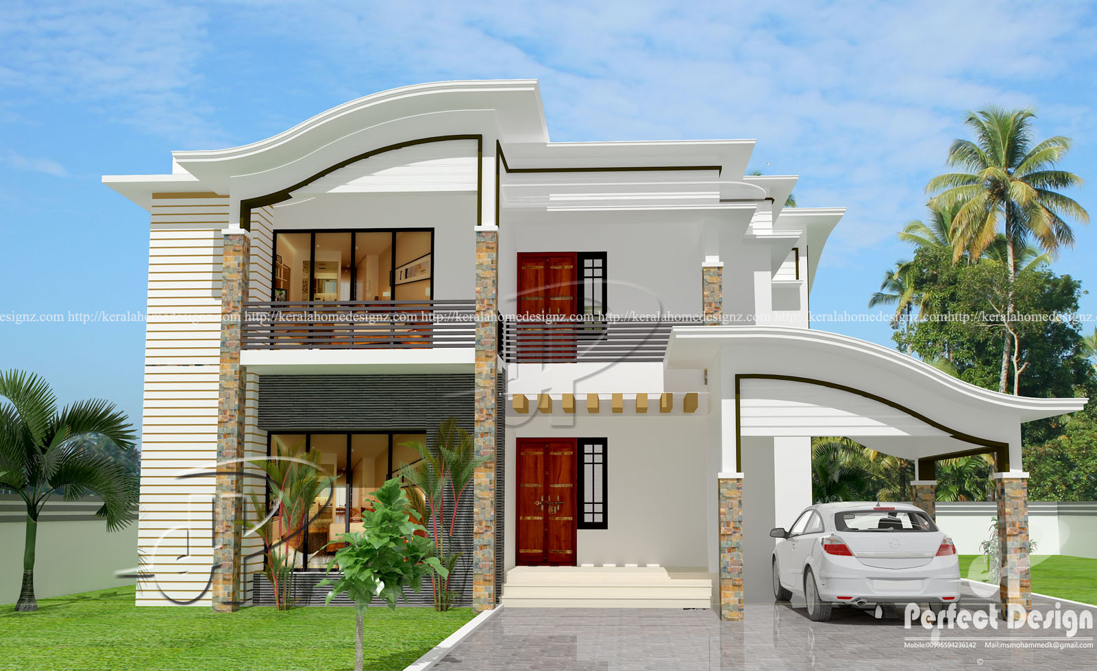 1732 sq ft contemporary home