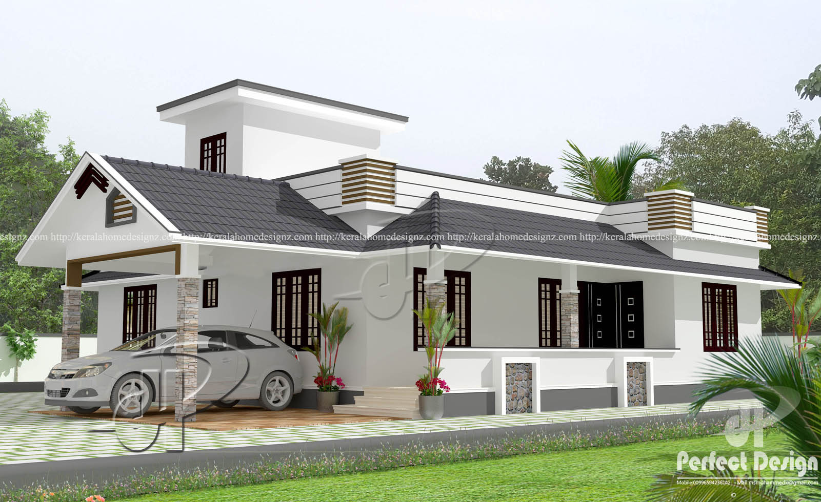 1181 Sq Ft Kerala Home Designs Kerala Home Design