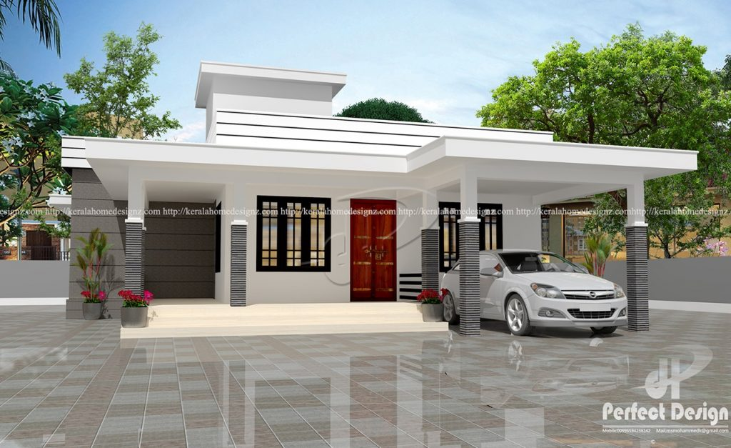 1152 sq ft beautiful home kerala home design