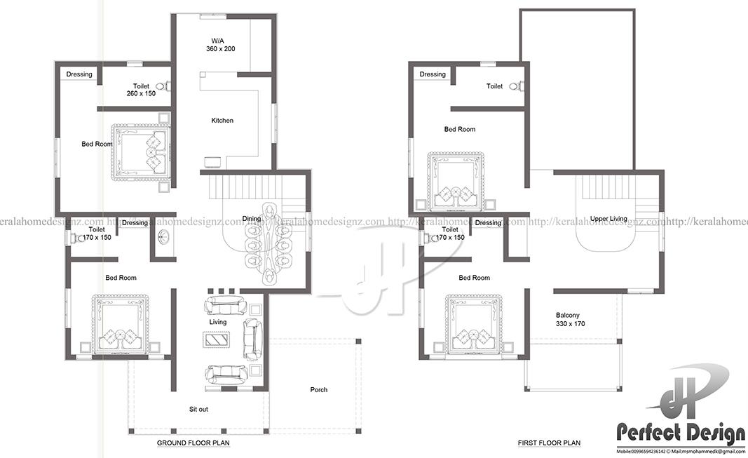 2140 Sq Ft Modern Villa Kerala Home Design
