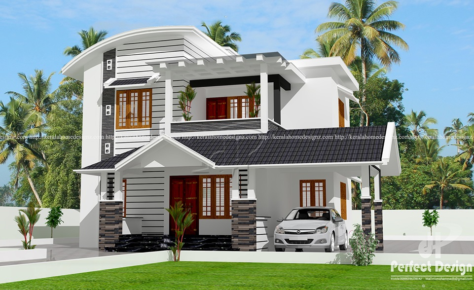 2140 Sq Ft Modern Villa Kerala Home Design