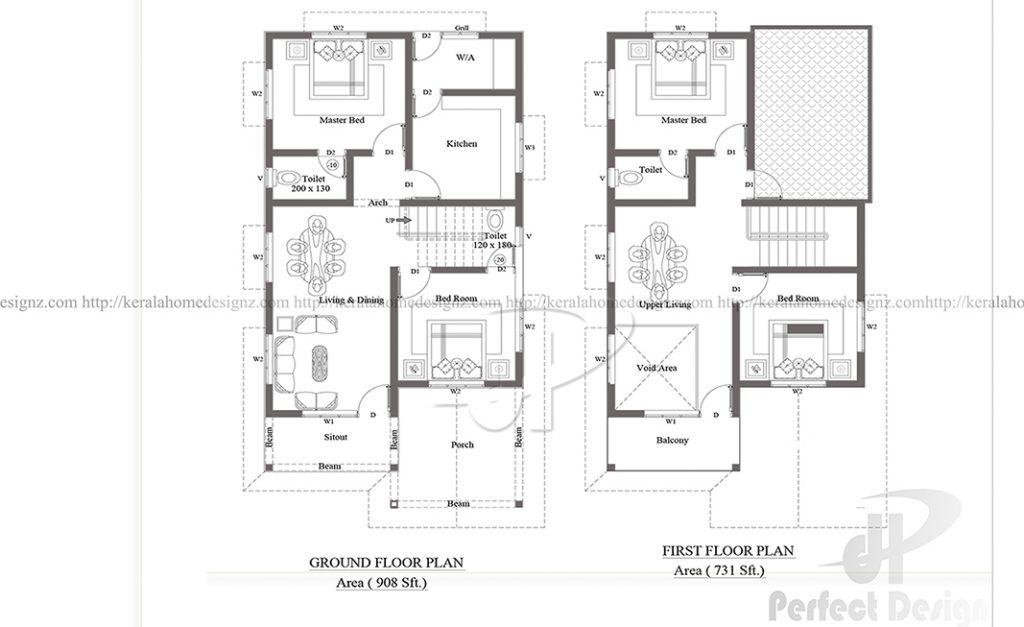 Beautiful 1633 Modern Home Design Kerala Home Design