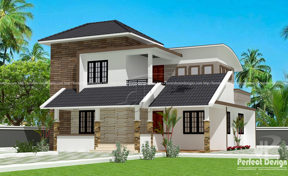 Wonderful Contemporary Mix Villa Design Part - 6: Contemporary Mix Villa Design