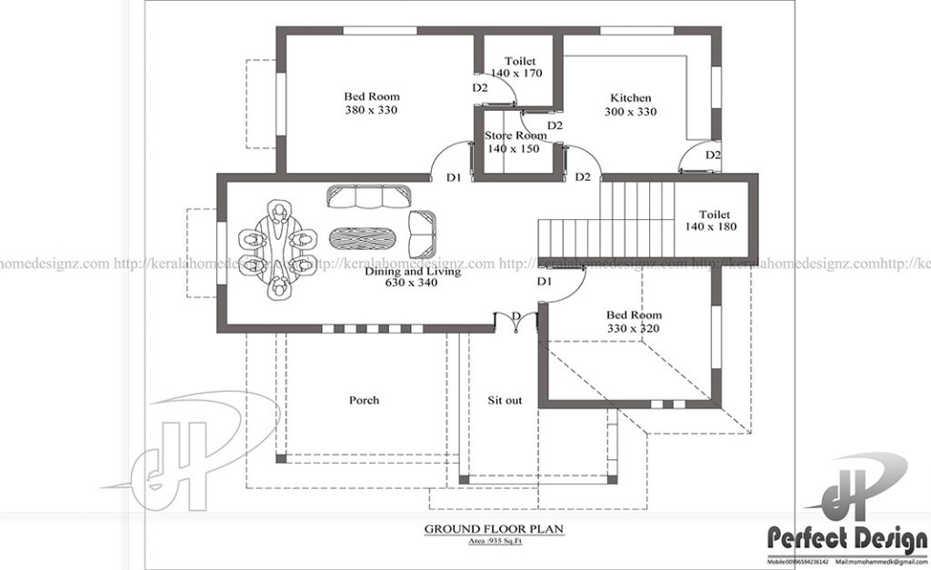 Minimalist Single Floor House Kerala Home Design
