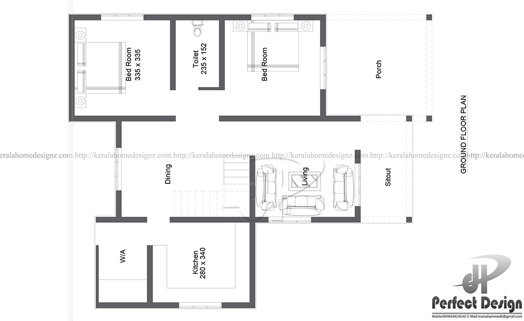 Many Ranch House Plans Are Made With This Contemporary Aesthetic. Nice  Single Floor Contemporary Home Layout