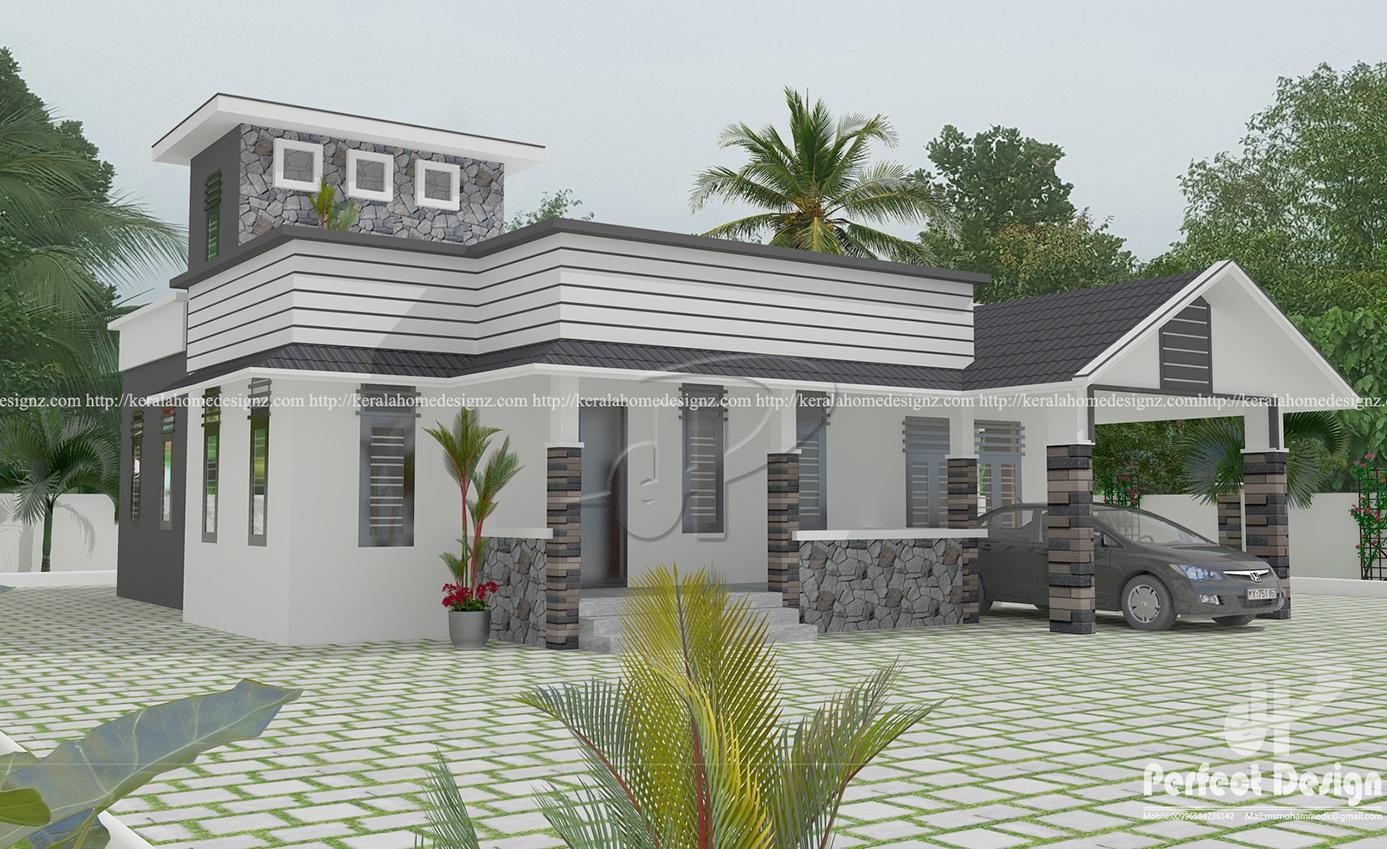 3 Bedroom Single Storied Home Design Kerala Home Design
