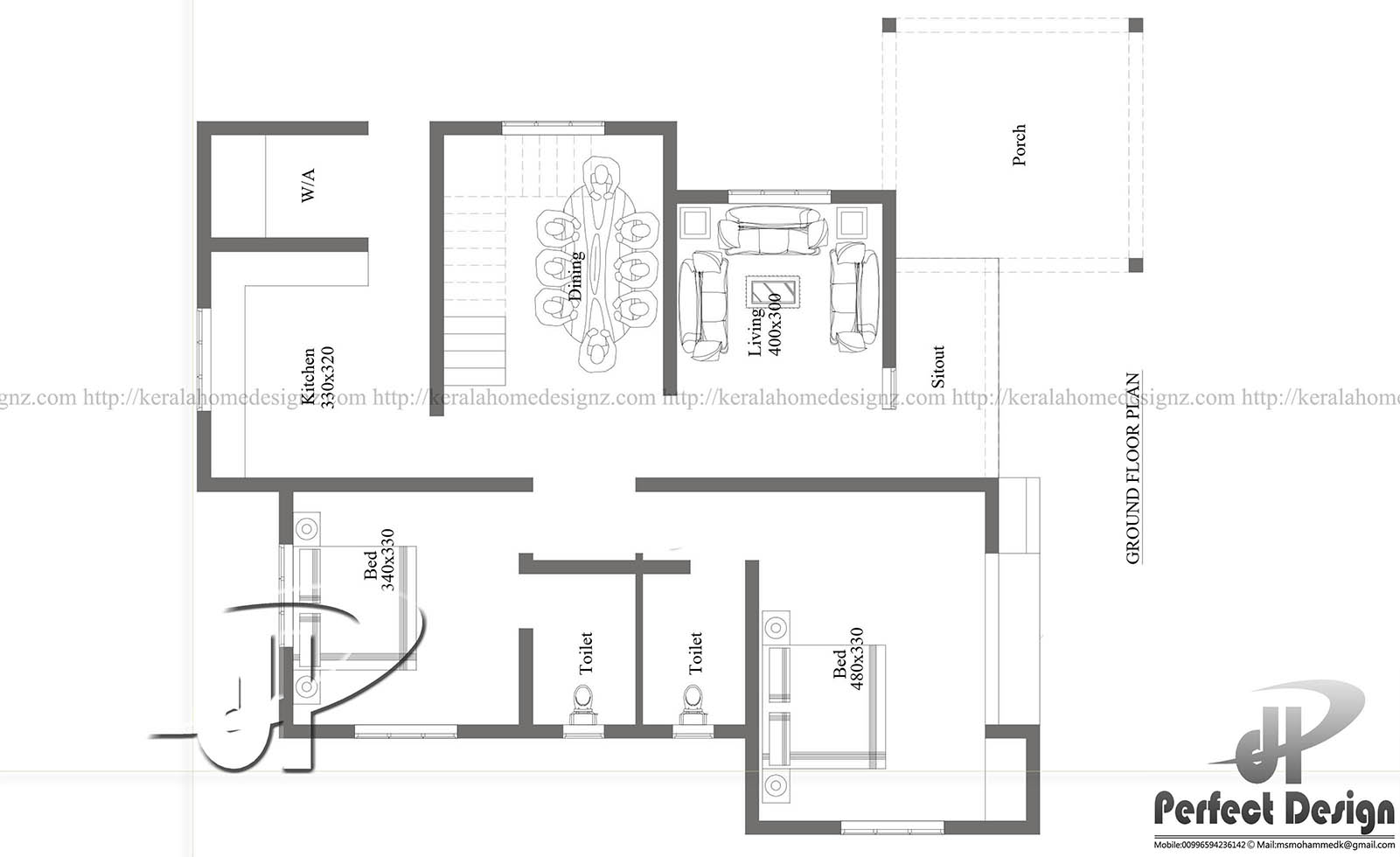 Modern Home Plan Architecture Kerala Home Design