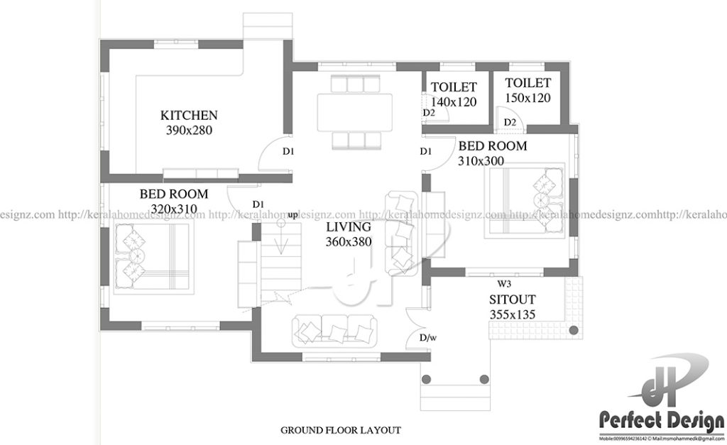 10 Lakhs Cost Estimated Home Design Kerala Home Design
