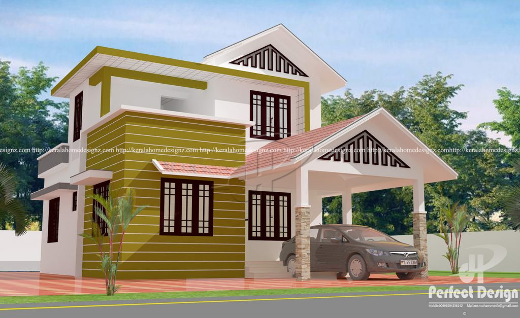 17 Lakhs Construction Cost Estimated Home Kerala Home