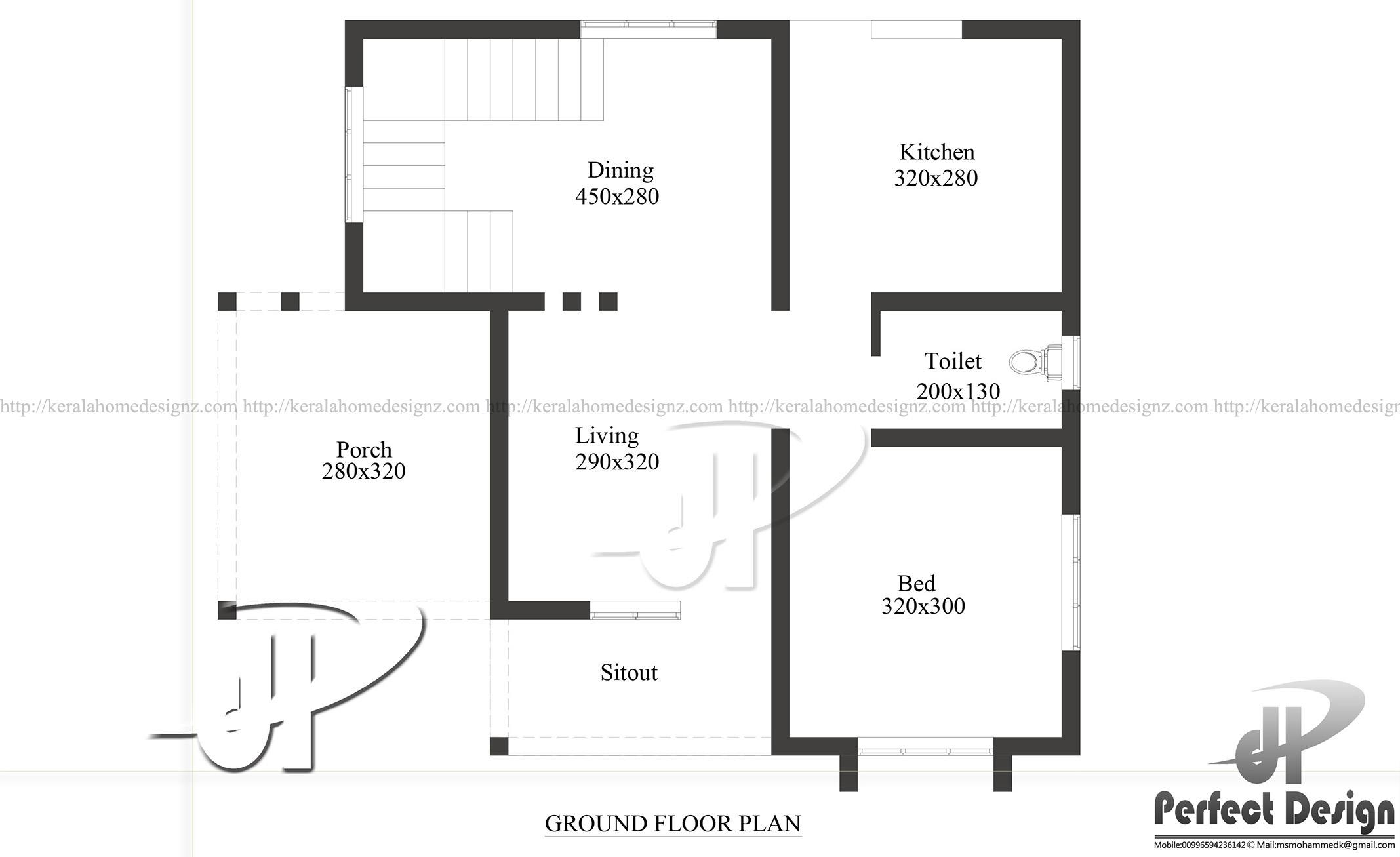 650 Square Feet Floor Plan