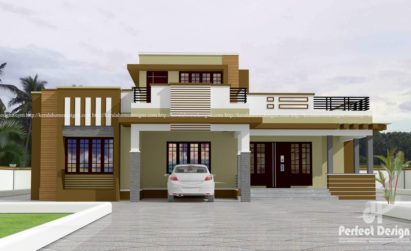 Exceptional 3bhk Contemporary Home Part - 2: 3BHK CONTEMPORARY HOME