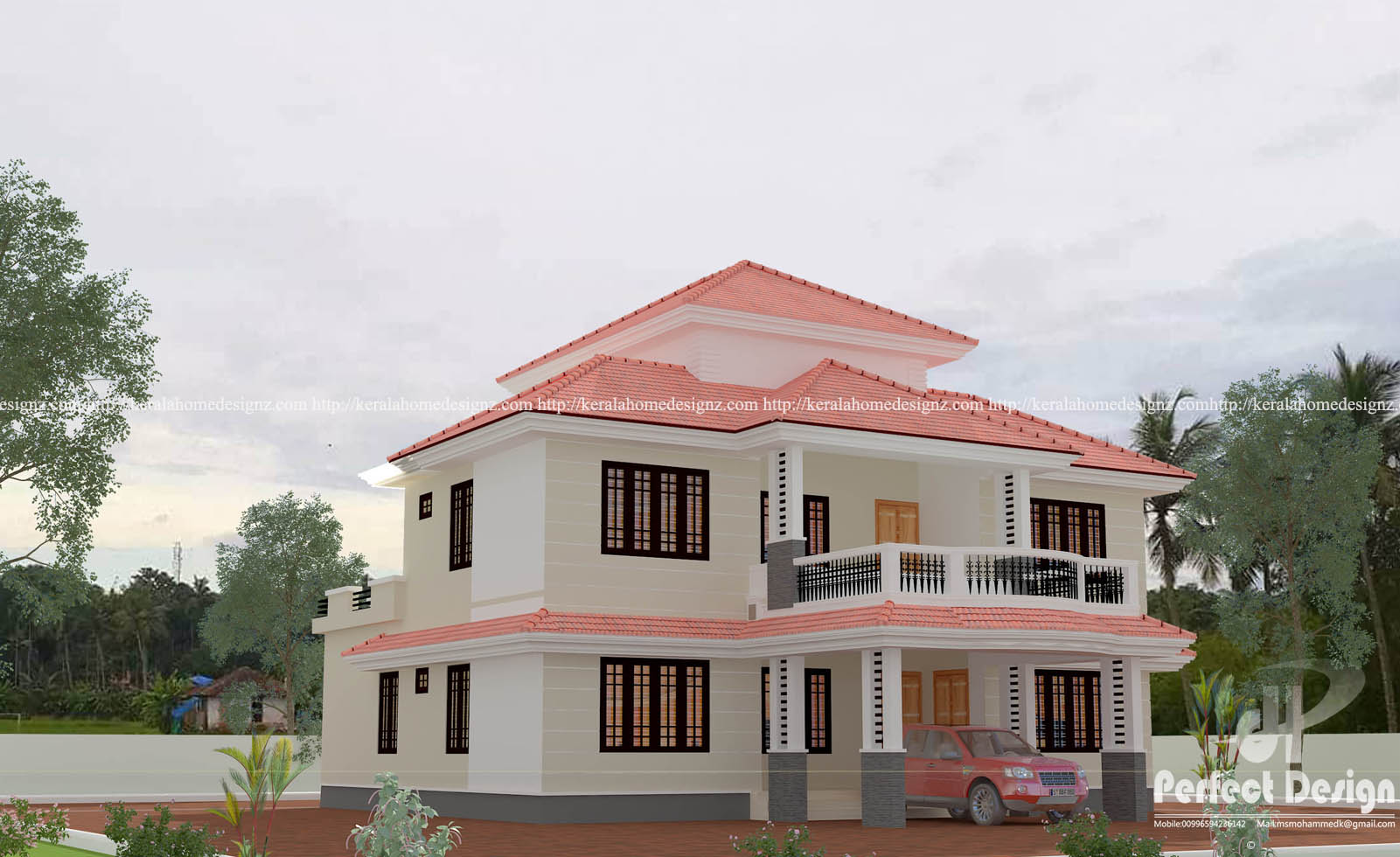 4BHK KERALA HOME DESIGN