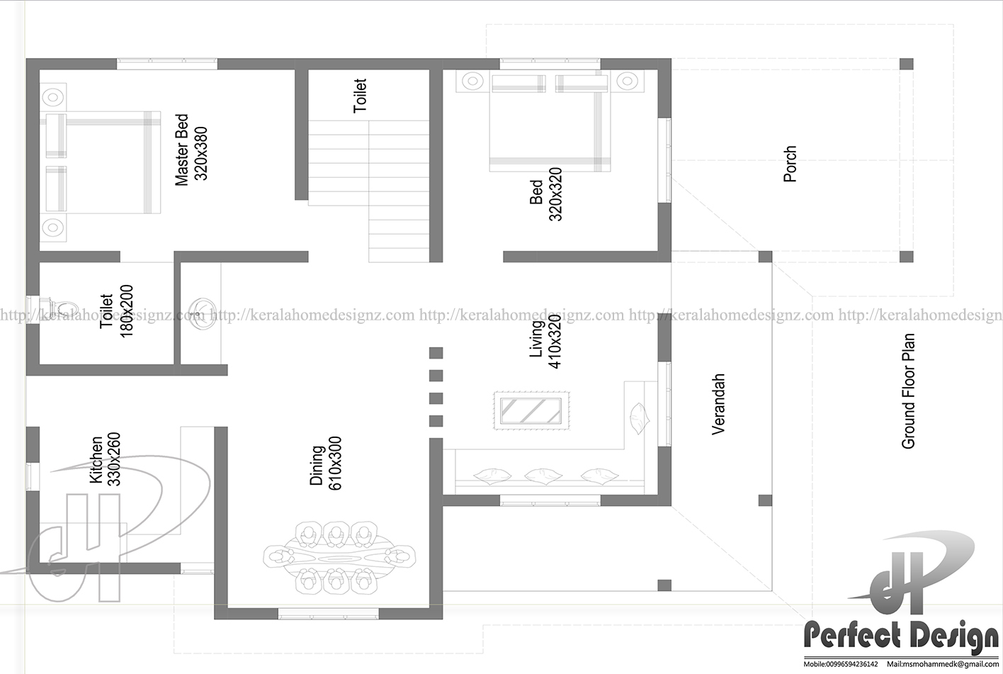 Single floor home with estimated cost kerala home design for House plans with price estimate
