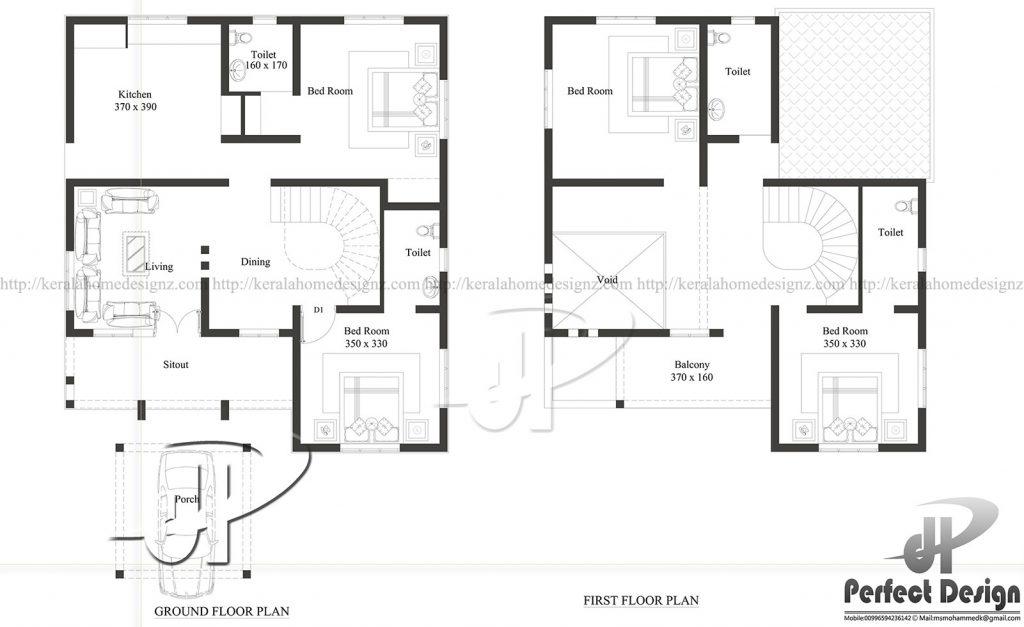 4bhk Modern Home Designs Kerala Home Design