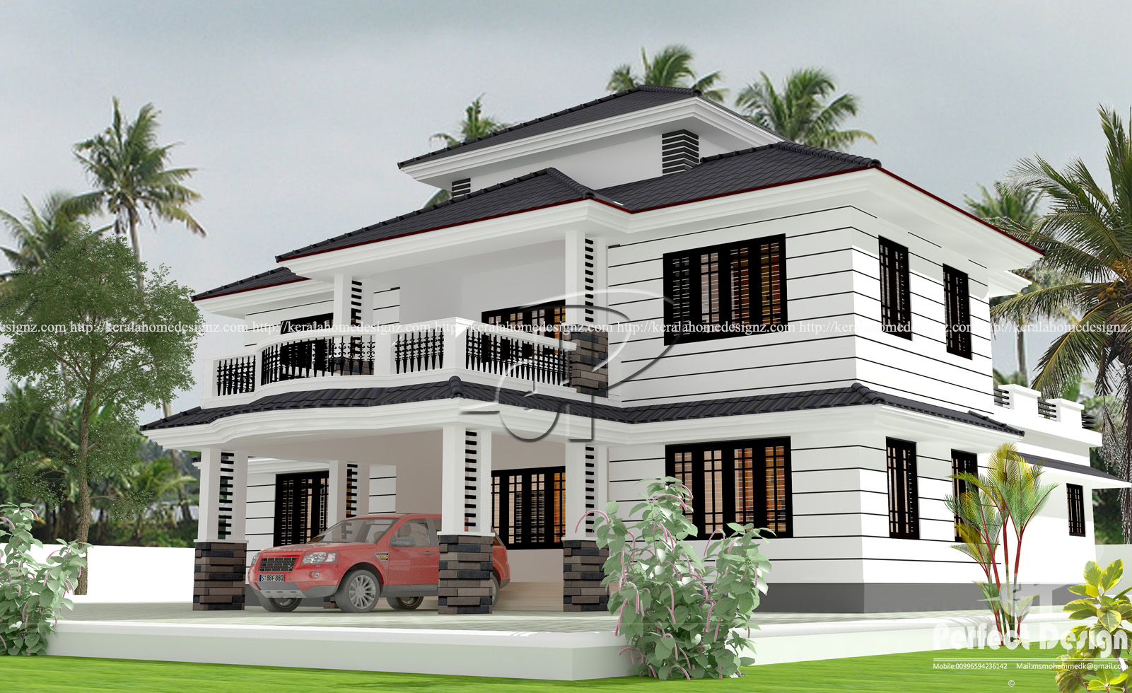 Beautiful Kerala Home Design At Malappuram