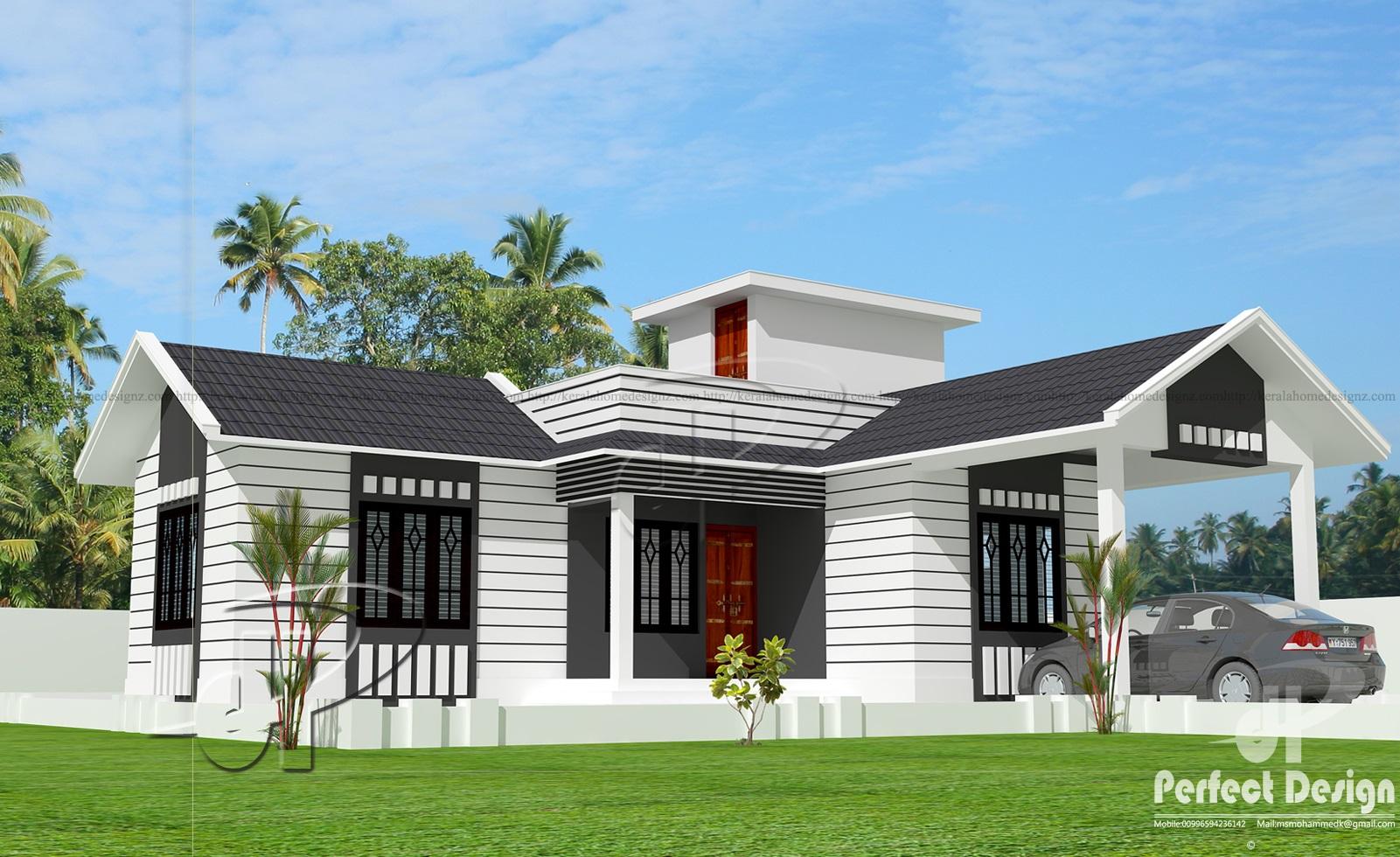 850 Sq Ft Single Floor Home