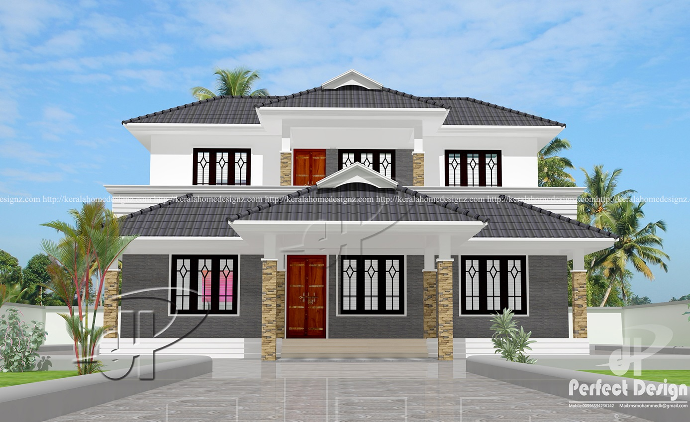 Perfect home design kerala style