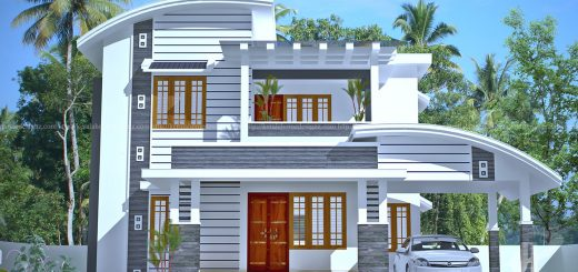 Beautiful Double Floor House In Calicut