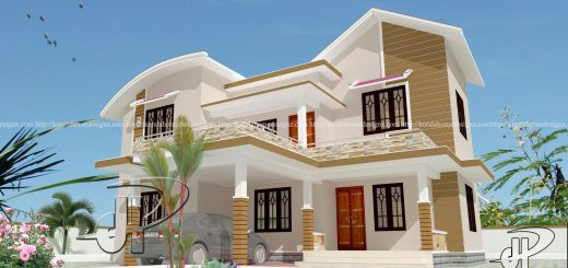 Double Floor Homes Kerala Home Design