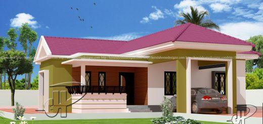 Single Floor Homes Kerala Home Design